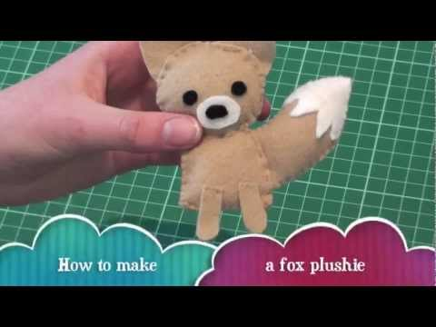 How to make a Fox Plushie
