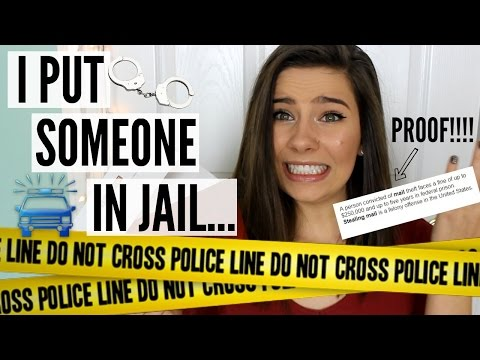 STORYTIME: I PUT SOMEONE IN JAIL (seriously)