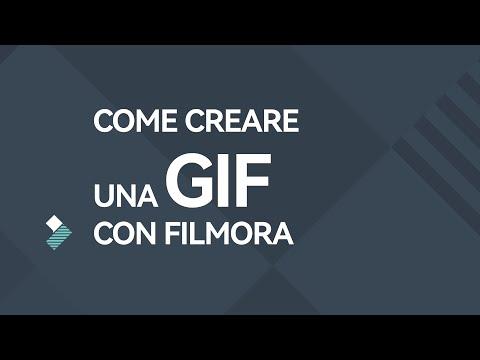 Come creare una GIF con Filmora  (gif animate gratis)  |  Tutorial Filmora