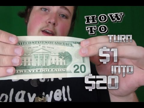 $1 into $20 (Tutorial)