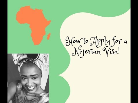 HOW TO APPLY FOR YOUR VISA TO #LAGOS, #NIGERIA
