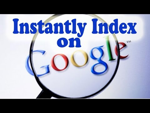 Instantly Index Webpage Or Post To Google Search And Make Post immediately Searchable