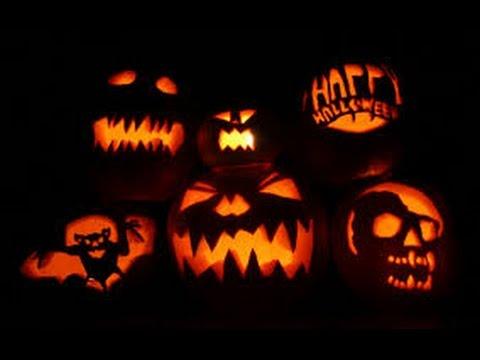 How to make an Halloween Pumpkin with light