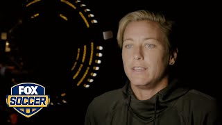 Abby Wambach Putting The Crest On Every Single Time Means Something T