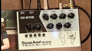 Tech 21 SansAmp DI-2112 & PSA 2.0 Demos | NAMM 2020