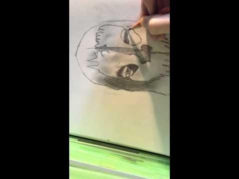 Call Of Duty Ghosts drawing time lapse