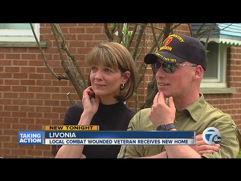 Local combat veteran given new home, 100 percent mortgage free
