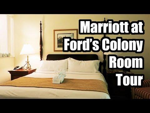 Marriott's Manor Club at Ford's Colony 1 Bedroom Villa 2018, Williamsburg, Virginia!