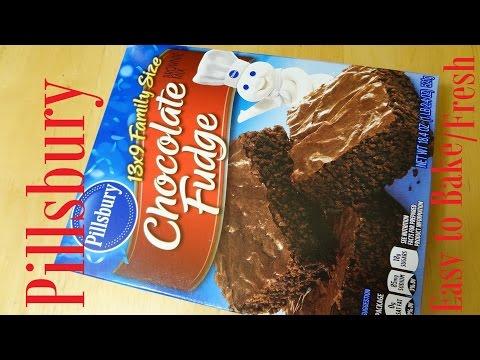 Pillsbury Chocolate Fudge Brownie Mix
