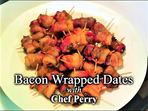 Blue Cheese Stuffed Bacon-Wrapped Dates OMG!
