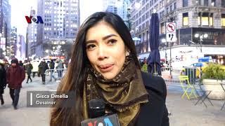 VOA Trending Topic: Desainer Muda Indonesia Gisca Dmelia Gelar Fashion Show di New York
