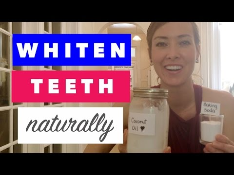 How to Whiten Teeth with Baking Soda and Coconut Oil | Natural & Inexpensive Tip