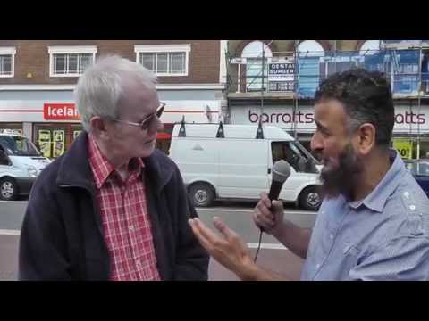 Amazing Conversion to Islam - Street Dawah 'Live'