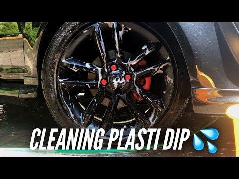 CLEANING PLASTI DIP ALLOYS!!