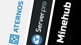Server.pro Vs Aternos Vs Minehub : Which is better? : Free Bedrock server hosting
