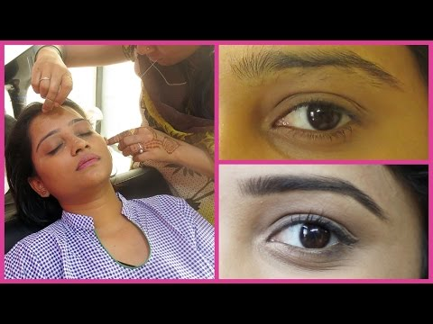 Get DarK Thick Eyebrows fast and naturally / Easy Home Remedy / EYEBROWS CARE after THREADING