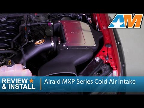 2015-2017 Ford F-150 (5.0L) Airaid MXP Series Cold Air Intake Review & Install