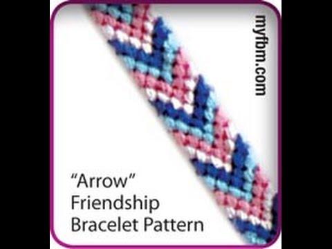 Friendship Bracelet Tutorial Arrow Pattern - Knot It App