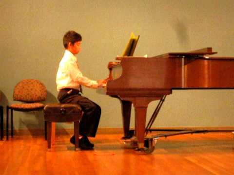 Jason's Recital: Ode To Joy