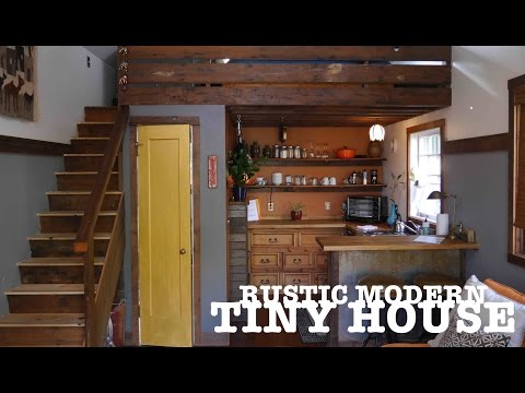Garage turned into a TINY HOUSE-