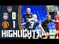 HIGHLIGHTS Manchester United Women 1 0 Liverpool Women FA WSL Continental Tyres Cup