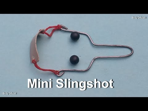 How To Make A Metal Slingshot Catapult