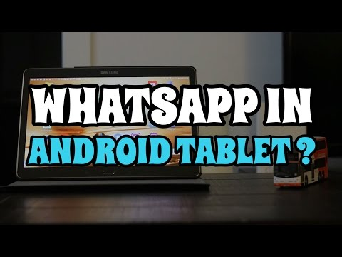 How to download whatsapp into your Android tablet? | Not IOS |