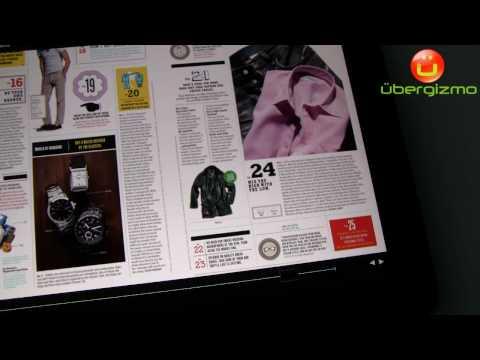 iPad Marvel Comics & GQ Magazine (720p HD video)