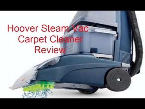 Hoover SteamVac Spin Scrub Carpet Cleaner Review