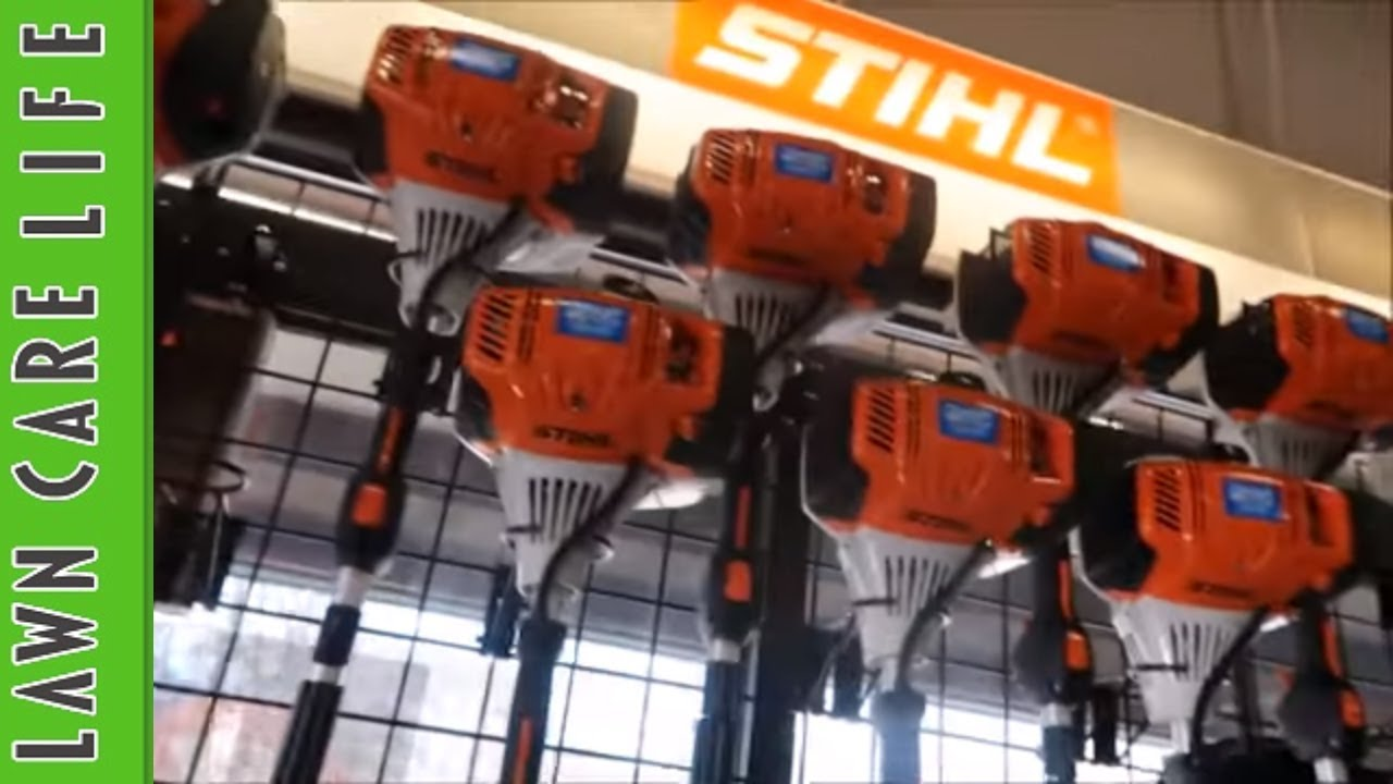 Stihl trimmer aka weed eater, weed wacker overview