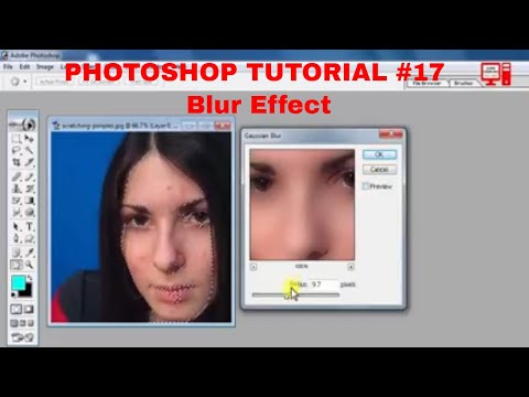 Photoshop #17  | Photoshop Filters Blur Effect in Telugu | Photoshop Tutorials in Telugu