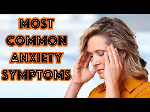 5 Most Common Anxiety Symptoms