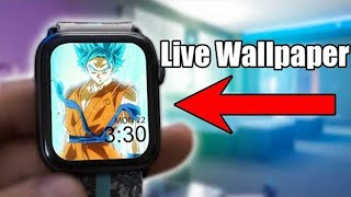 How To Make Live Wallpapers On Your Apple Watch - UPDATE Series 0-5