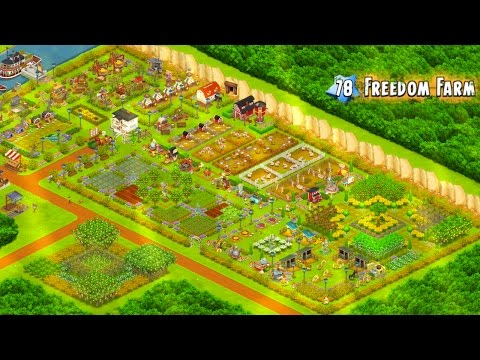 How to Make A Full Screen View Of Hay Day Farm   Freedom Farm - Hay Day Strategies