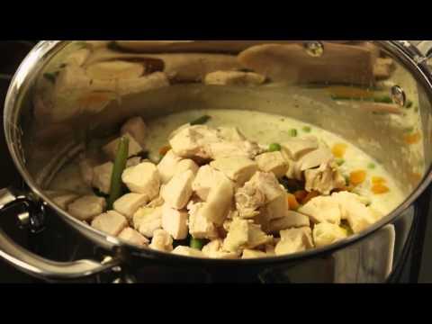 How to Make Turkey Pot Pie - Turkey Leftover Recipes 2014
