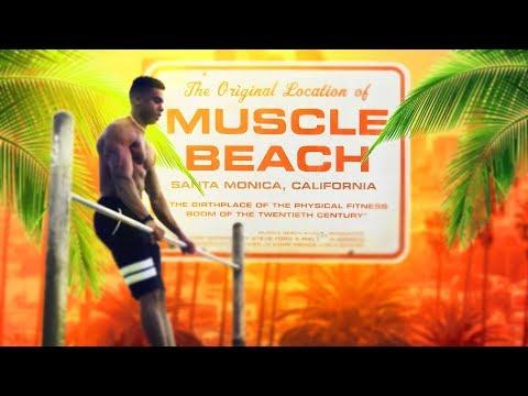 MUSCLE BEACH MEETS SAUSTIN!