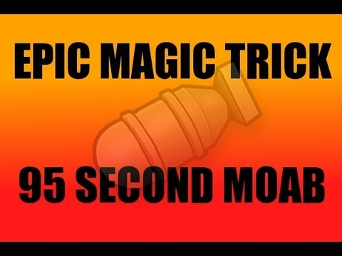 Magic & Moabs - Episode 1 - Epic Magic Trick + Quick Moab!