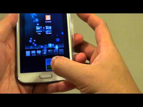 Samsung Galaxy S5: How to Add a Widget to the Home Screen