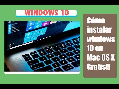 Cómo Instalar windows 10 con VMware 8 en Mac OS X Yosemite y el capitan