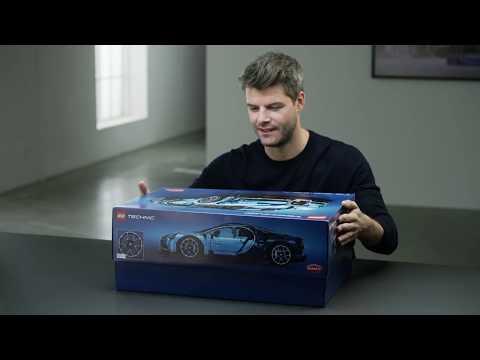 LEGO Bugatti Chiron 42083 official Designer Video