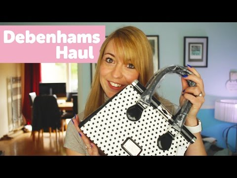Jen's Debenhams Handbag & Pyjama Haul Video
