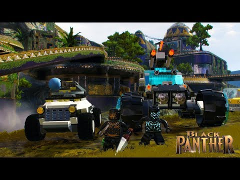 LEGO Marvel Super Heroes 2 Wakandan Battle Tank and Patrol Buggy Free Roam (Black Panther DLC)