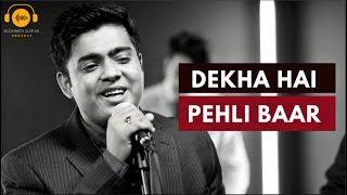 Dekha Hai Pehli Baar - Saajan (Cover) | Digbijoy Acharjee & Aasim Ali | Siddharth Slathia Project