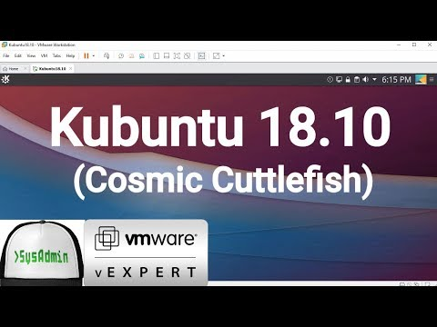 How to Install Kubuntu 18.10 + VMware Tools + Review on VMware Workstation [2018]