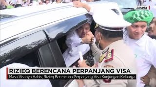 Rizieq Shihab Berencana Perpanjang Visa
