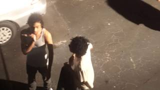 ***RARE FOOTAGE*** (BEFORE THE FAME) XXXTENTACION GOES CRAZY ON ROBB BANK$!!!!