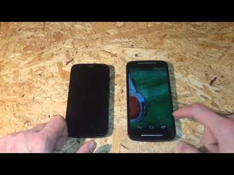 Motorola Moto G 1 vs. Motorola Moto G2 test [PL]