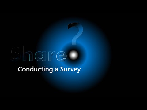 SharePoint Part 5 - Conducting a survey