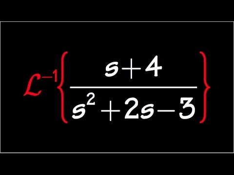 inverse laplace transform, example#4, with partial fraction