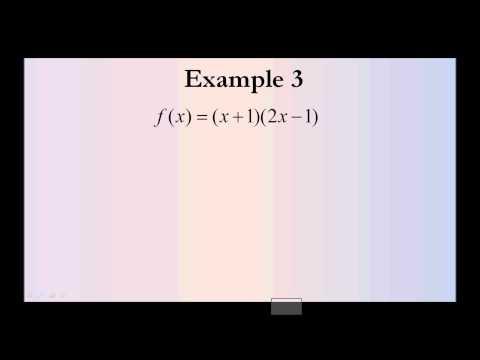 Antiderivative Examples #1